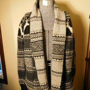 Cambridge Dry Goods Wool Sweater Jacket - Sz. S